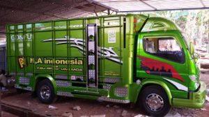 Gambar Foto Contoh Modifikasi Mobil Truk Canter Tampilan Body
