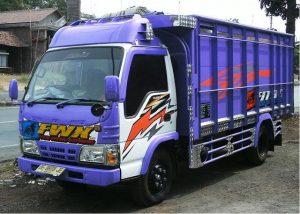 Gambar Foto Modifikasi Mobil Truk Lampung Canter