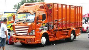 Gambar Foto Modifikasi Mobil Truk Lampung Full Body