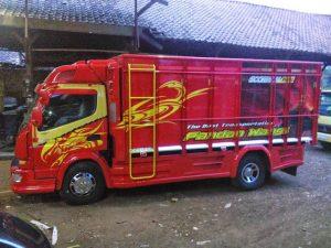 Gambar Foto Modifikasi Mobil Truk Lampung Terbaik