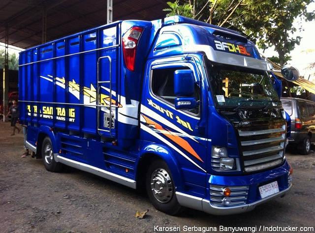 Gambar Foto Modifikasi Mobil Truk Lampung Terpercaya