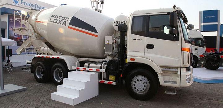 Gambar Foto Jenis Mobil Truk Besar Molen Terbaru