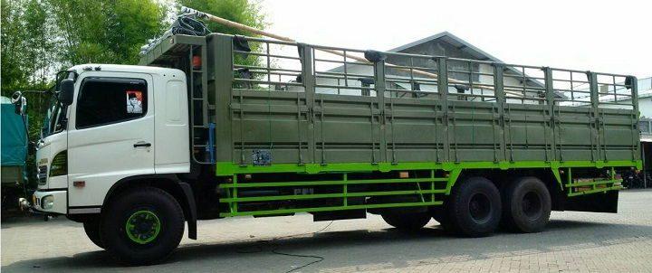 Gambar Foto Jenis Mobil Truk Besar Tronton Bak Terbuka