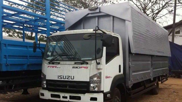 Gambar Foto Jenis Mobil Truk Besar Wing Box Isuzu