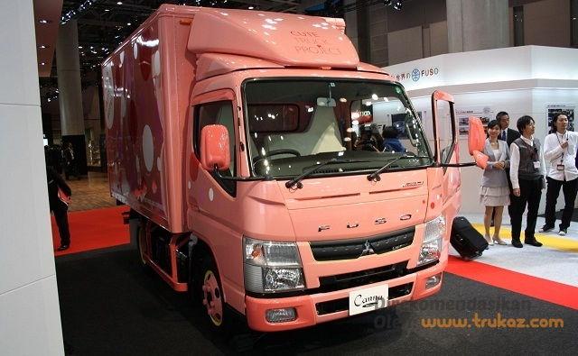 Gambar Foto Modifikasi Mobil Truk Mitsubishi Komersial