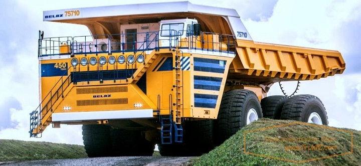 Gambar Foto Spesifikasi Mobil Truk Terbesar di Dunia BELAZ 75710