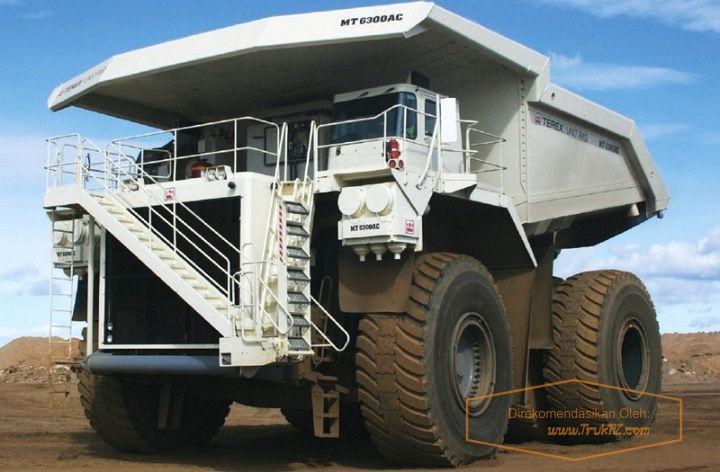 Gambar Foto Spesifikasi Mobil Truk Terbesar di Dunia Bucyrus MT 6300AC